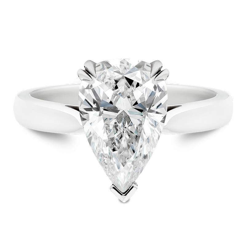 Pear Cut Solitaire, 3.04ct