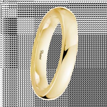 D-Shape, 18ct Yellow Gold