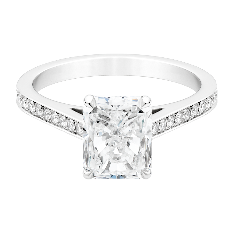 Radiant Cut with Shoulders, 2.00ct